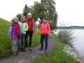 balade au bord du lac de Sihl