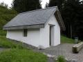 plusieurs chapelles le long du chemin, au col de Haggenegg